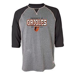 Men's Stitches Baltimore Orioles Raglan Tee