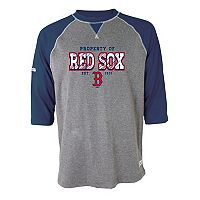 Men's Stitches Boston Red Sox Raglan Tee