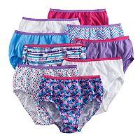 Girls 4-16 Hanes 9-pk. Cotton Brief Panties