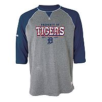 Men's Stitches Detroit Tigers Raglan Tee