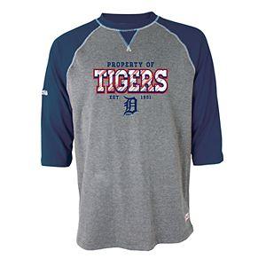 Men's Stitches Detroit Tigers Raglan Tee