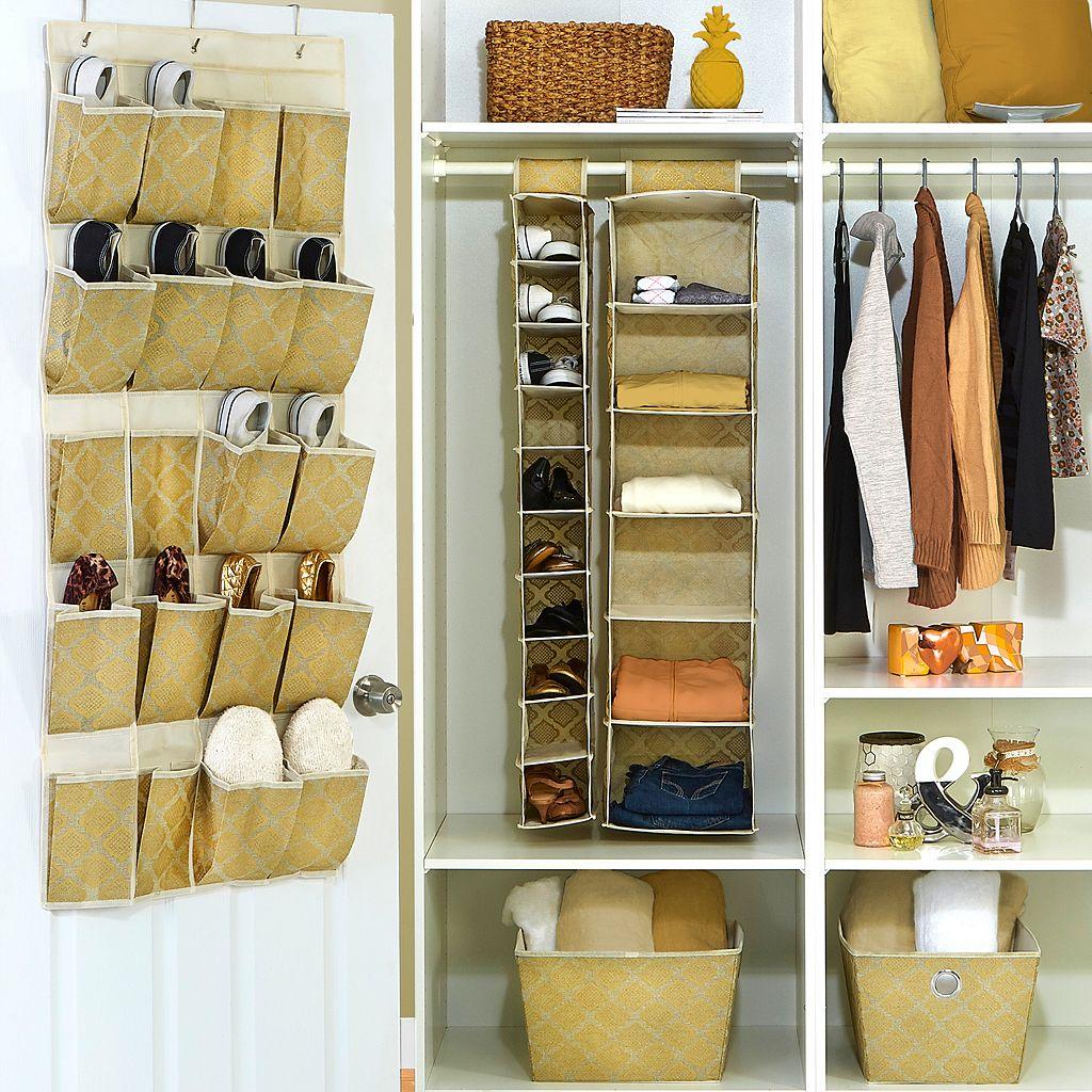 Macbeth ClosetCandie 10-Shelf Closet Shoe Organizer