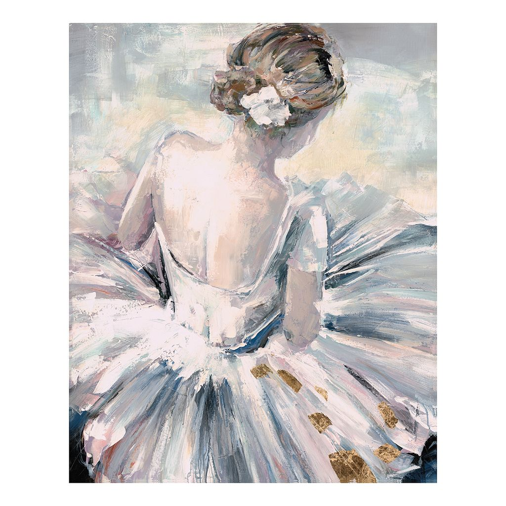 The Dancer Canvas Wall Art