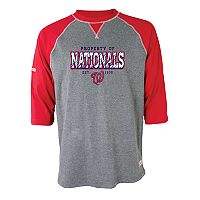 Men's Stitches Washington Nationals Raglan Tee