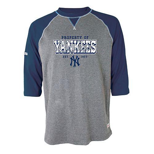 Men's Stitches New York Yankees Raglan Tee