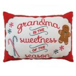 St. Nicholas Square® ''Grandma'' Mini Oblong Pillow