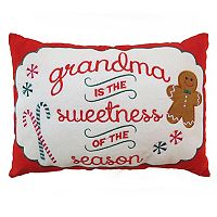 St. Nicholas Square® ''Grandma'' Small Oblong Throw Pillow