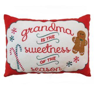 St. Nicholas Square® ''Grandma'' Mini Oblong Pillow