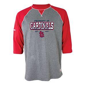 Men's Stitches St. Louis Cardinals Raglan Tee