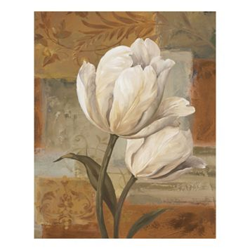 Tulip Waltz III Canvas Wall Art