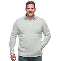Big & Tall Croft & Barrow® Classic-Fit Outdoor Fleece Sweater