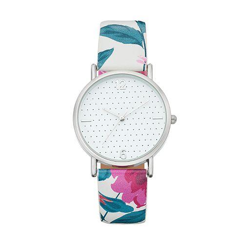 Women's Floral Watch