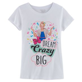 "Girls 7-16 JoJo Siwa ""Dream Crazy Big"" Tee"