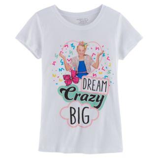 "Girls 7-16 JoJo Siwa ""Dream Crazy Big"" Tee"