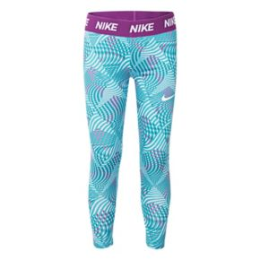 Girls 4-6x Nike Dri-FIT Geometric Capri Leggings
