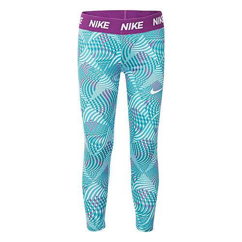 Girls 4-6x Nike Dri-FIT Geometric Capri Leggings