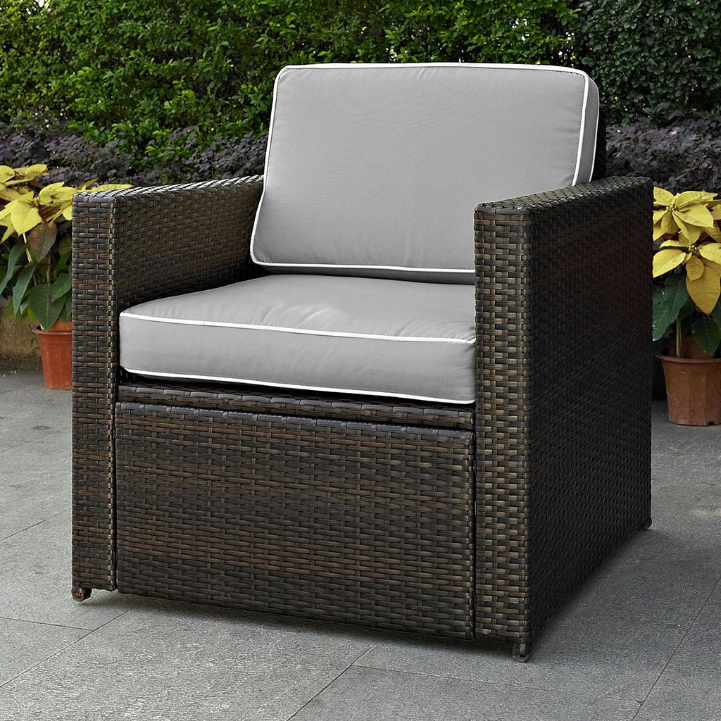 Crosley Furniture Palm Harbor Patio Arm Chair