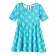 Toddler Girl Jumping Beans® Curved Seam Dress