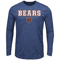 Big & Tall Majestic Chicago Bears Long-Sleeve Tee