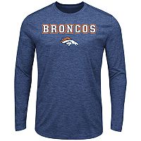 Big & Tall Majestic Denver Broncos Long-Sleeve Tee