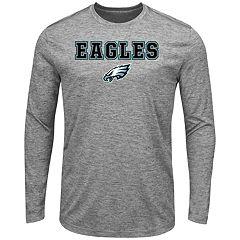 Big & Tall Majestic Philadelphia Eagles Long-Sleeve Tee