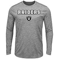 Big & Tall Majestic Oakland Raiders Long-Sleeve Tee