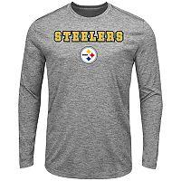 Big & Tall Majestic Pittsburgh Steelers Long-Sleeve Tee