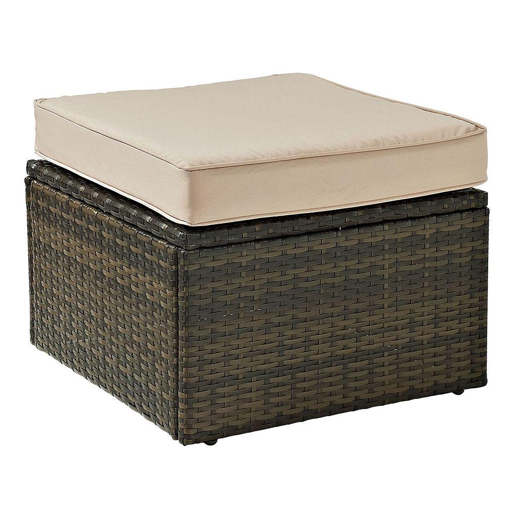 Crosley Furniture Palm Harbor Patio Ottoman