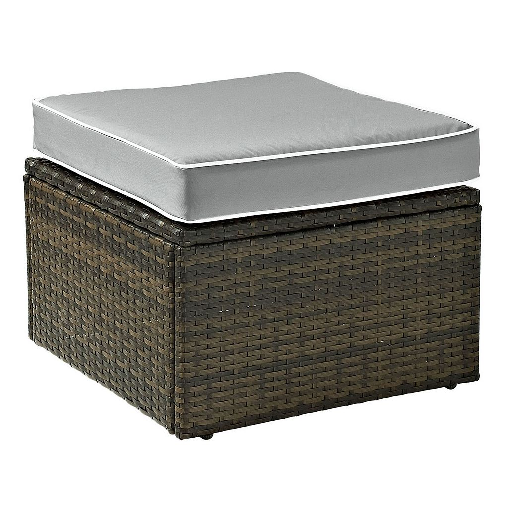Crosley Furniture Palm Harbor Patio Ottoman