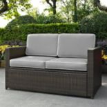 Crosley Furniture Palm Harbor Patio Loveseat