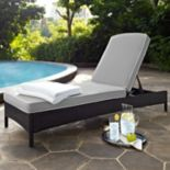 Crosley Furniture Palm Harbor Patio Chaise Lounge Chair