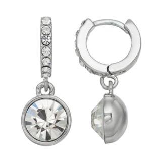 Simply Vera Vera Wang Nickel Free Simulated Crystal Hoop Earrings
