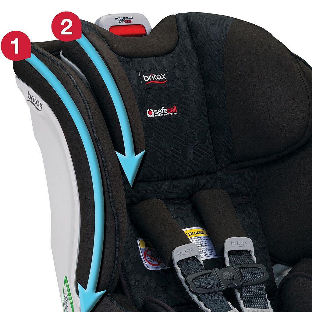Britax Boulevard ClickTight Anti-Rebound Bar Convertible Car Seat