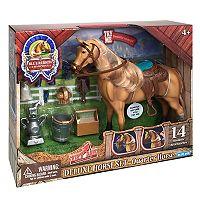 Blue Ribbon Champion Horses Quarter Deluxe Horse Set