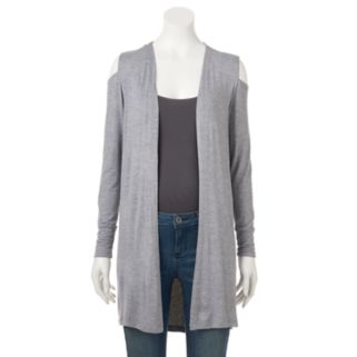 Women's French Laundry Cold-Shoulder Cardigan