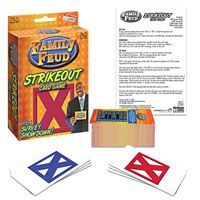 Family Feud Strike Out Card Game by Endless Games