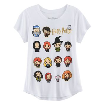 Girls 7-16 Harry Potter Character Graphic Tee
