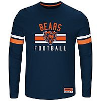 Big & Tall Majestic Chicago Bears Practice Tee