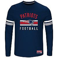 Big & Tall Majestic New England Patriots Practice Tee