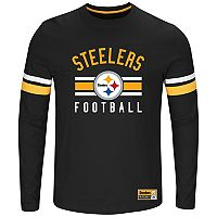 Big & Tall Majestic Pittsburgh Steelers Practice Tee
