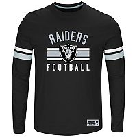 Big & Tall Majestic Oakland Raiders Practice Tee