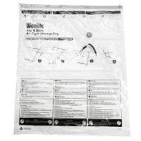Woolite Vac & Stow Jumbo Cube Airtight Vacuum Storage Bag