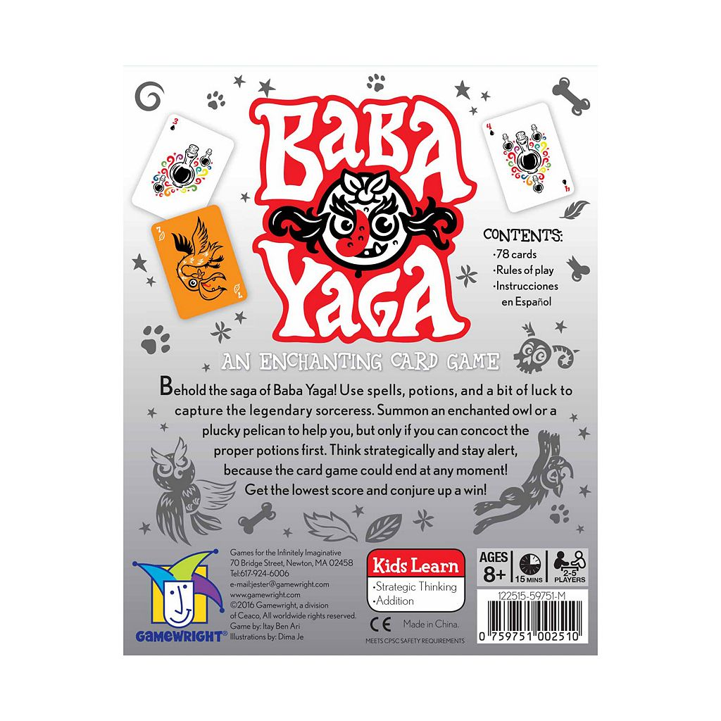 Baba Yaga Game by Gamewright