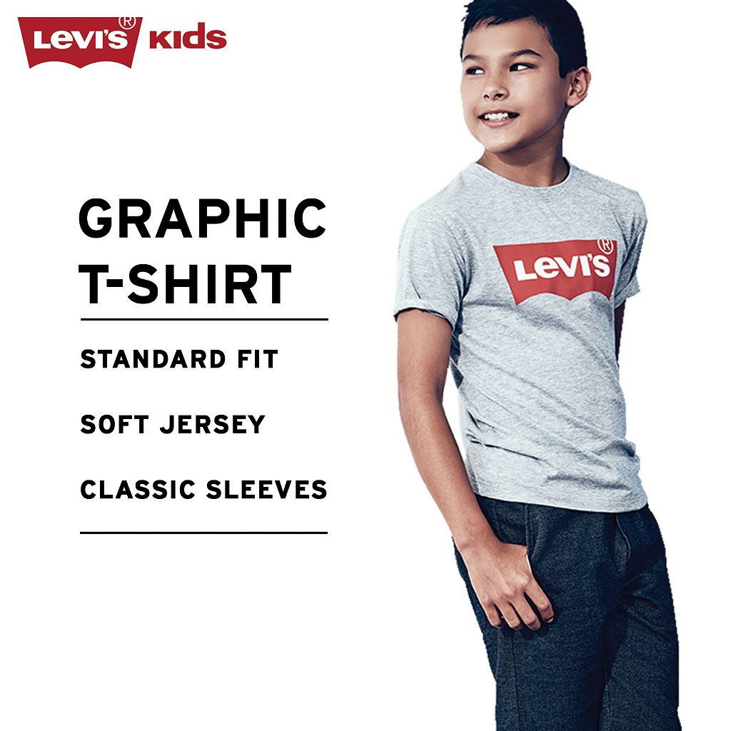 Boys 4-7 Levi's Batwing Graphic Tee