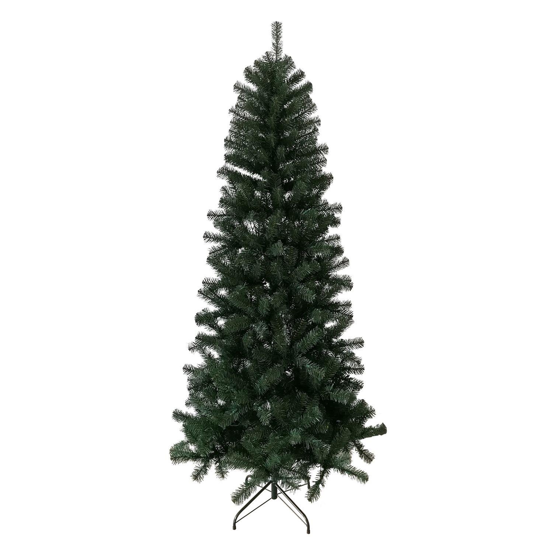 slim artificial christmas tree