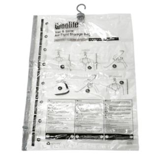 Woolite Vac & Stow Large Airtight Vacuum Garment Bag