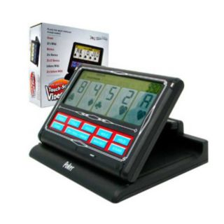 Portable Touch-Screen 7-in-1 Video Poker Game by John N. Hansen Co.