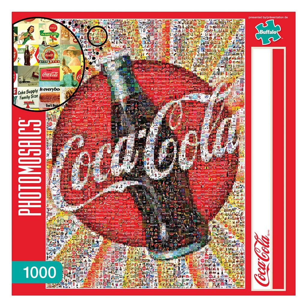 Buffalo Games 1000-pc. Coca-Cola Photomosaics Jigsaw Puzzle