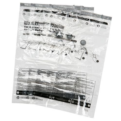 Woolite 12-piece Airtight Vacuum Storage Bag Set