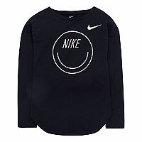 Girls 4-6x Nike Smiley Long-Sleeved Tee